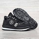 Женские зимние ботинки - кроссовки черные (БТ-15ч), фото 6