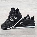 Женские зимние ботинки - кроссовки черные (БТ-15ч), фото 7
