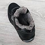 Мужские зимние кроссовки утепленные на меху (Сгз-3-3), фото 4