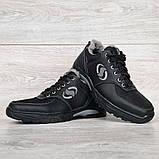 Мужские зимние кроссовки утепленные на меху (Сгз-3-3), фото 6
