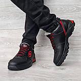 Мужские кроссовки зимние утепленные на меху (Сгз-3-2чр), фото 3