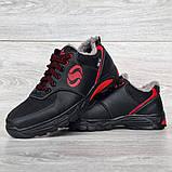 Чоловічі кросівки зимові утеплені на хутрі (Сгз-3-2чр), фото 5