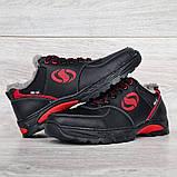 Мужские кроссовки зимние утепленные на меху (Сгз-3-2чр), фото 7
