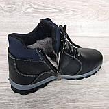 Чоловічі черевики на хутрі зимові (Сгб-16н), фото 7
