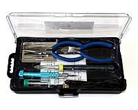 Набор для пайки ZD-972F (USB паяльник, подставка, припой, отвертка, кусачки)