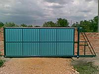 Установить раздвижные ворота