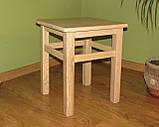 Деревянная табуретка (массив БУКА), фото 2