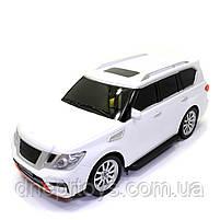 Игрушечная машинка на радиоуправлении АвтоСвіт «Nissan Patrol» джип белый, свет, звук 31*12*13 см (AS-2363), фото 2
