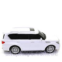 Игрушечная машинка на радиоуправлении АвтоСвіт «Nissan Patrol» джип белый, свет, звук 31*12*13 см (AS-2363), фото 4