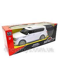 Игрушечная машинка на радиоуправлении АвтоСвіт «Nissan Patrol» джип белый, свет, звук 31*12*13 см (AS-2363), фото 7