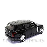 Іграшкова машинка на радіоуправлінні АвтоСвіт «Range Rover» чорний, світло, звук 31*12*13 см (AS-1837), фото 3