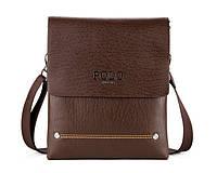 Мужская кожаная сумка через плече Polo Новая Модель, фото 1