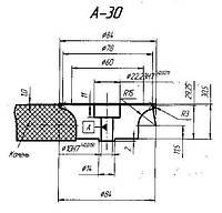 Профильный ролик тип А 30 №3