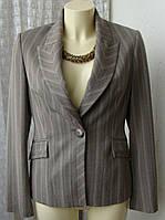 Пиджак женский деловой элегантный бренд Marks&Spencer р.46 4998