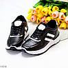 Комфортные стильные черные женские кроссовки на каждый день, фото 9