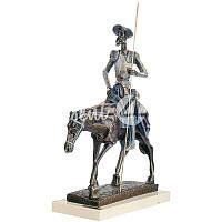 Скульптура Anglada «Дон Кихот на лошади» h-32 см.