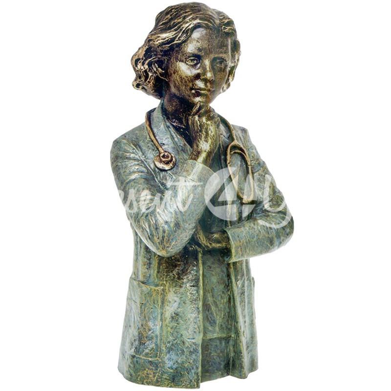 Скульптура Anglada «Врач» h-31 см.