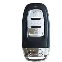 Корпус смарт-ключа AUDI 3 Кнопки лезо HU66, фото 1
