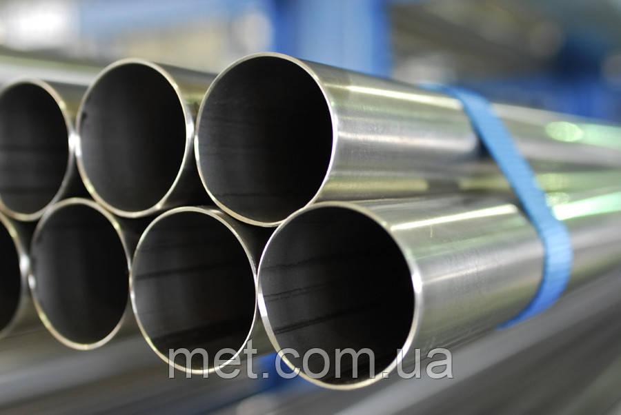 Труба нержавеющая10х2 сталь 12Х18Н10Т, фото 1