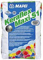 Mapei KERAFLEX MAXI S1(Польша) белый - клей на цементной основе для укладки керамической плитки и камня (23кг)