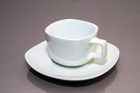 Чашка с блюдцем квадратная (160 мл)  F1011+F1011-4