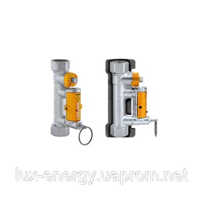 """Балансировочный клапан с индикатором протока Caleffi Solar 3/4"""", 3-10 l/m, t.max=130C, фото 2"""