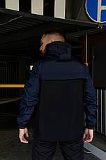 Размеры S-3XL | Чоловіча куртка анорак Nike 5 кольорів, фото 3