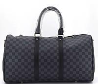 Дорожная сумка 41412 41414 black Спортивно Дорожная сумка LV люкс копия в Украине