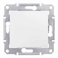 Выключатель 1- проходной белый   Schneider Electric Sedna SDN0400121