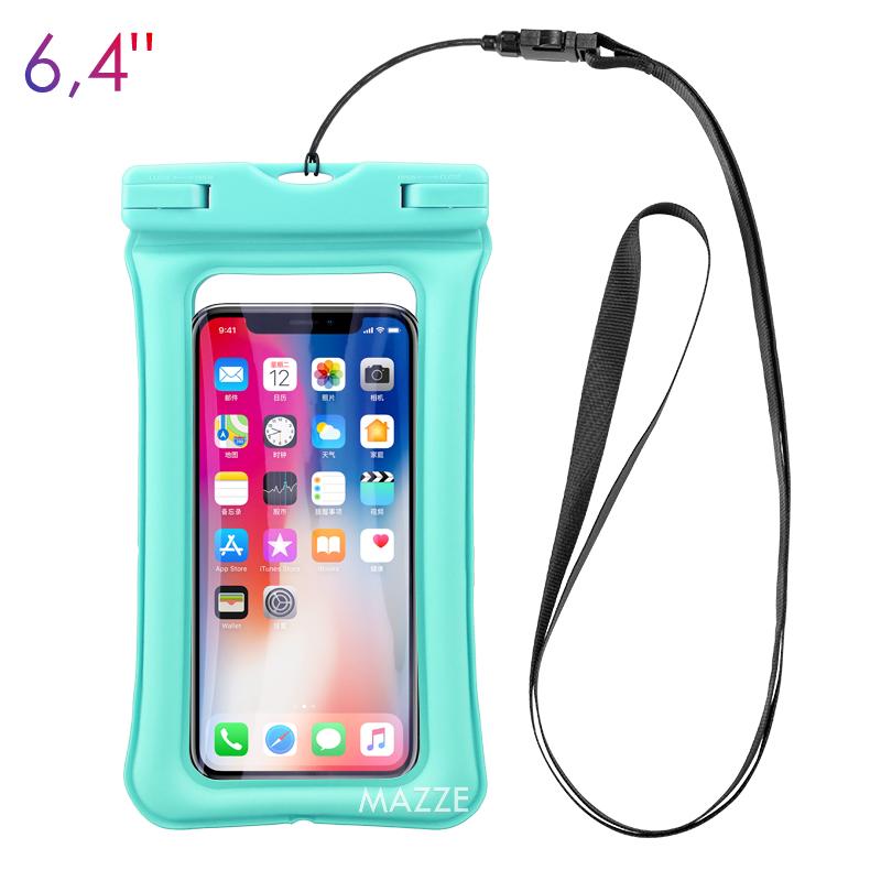 Чохол-сумка водонепроникний IPX8 для телефону смартфона для підводної зйомки сумка з повітряною подушкою KUULAA Airbag Waterproof Bag (KL-FSD-02)