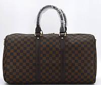 Дорожная сумка 41412 41414 brown Спортивно Дорожная сумка LV люкс копия в Украине