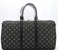 Дорожная сумка 41412 41414 black flower Спортивно Дорожная сумка LV люкс копия в Украине