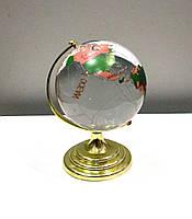 Глобус большой стеклянный - отличный подарочный сувенир, фото 1