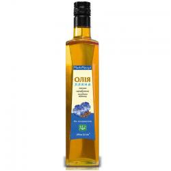 Льняное масло с экстрактом тыквенных семечек 0,2 л - Интернет-магазин Биосвит  в Киеве