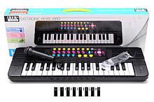 Детский музыкальный инструмент Детский синтезатор HS3722A на 37 клавиш игрушка