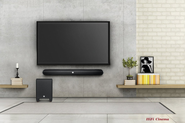 JBL Cinema SB 250 HiFi Soundbar Wireless Subwoofer
