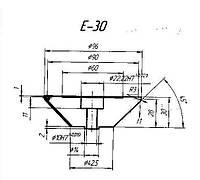 Профильный ролик тип E 30 №3