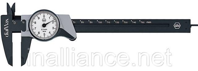 Штангенциркуль аналоговый точность 0,1 мм dialMax Wiha 27082