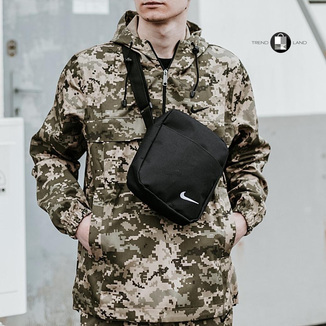 Размеры S-3XL | Мужская куртка анорак Nike Пиксель