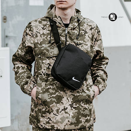 Размеры S-3XL | Мужская куртка анорак Nike Пиксель, фото 2