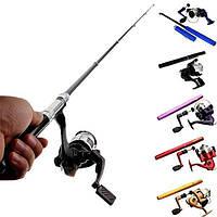 Карманная ручка-удочка Pocket Pen Fishing Rod + катушка, Эксклюзивный