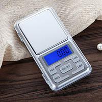 Ювелирные электронные весы книжка Pocket scale MH-200 (от 0,01 до 200 г)   высокоточные карманные весы, лучший