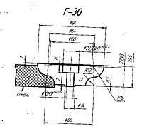 Профильный ролик тип F 30 №1
