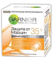 Дневной крем для лица антивозрастной Garnier Защита от морщин 35+ 50мл