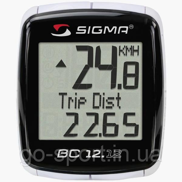 Велокомпьютер Sigma Sport BC 12.12