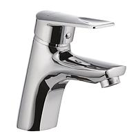 Смеситель на раковину в ванную CRON SIRIUS 001 однорычажный литой кран для умывальника из силуминового сплава