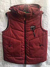Жилет чоловічий стеганний модний BESTWEAR на синтепоні розмір 48-56 купити оптом зі складу 7 км Одеса