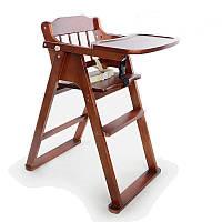 Стульчик для кормления деревянный ручной работы
