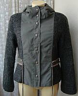 Куртка женская стильная модная с капюшоном бренд Bottoms р.46 5017а
