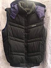 Жилет чоловічий стеганний модний TCHENT на синтепоні розмір 48-56 купити оптом зі складу 7 км Одеса